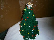 "Crochet Christmas Tree, 12"" tall"