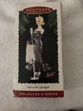 Hallmark Keepsake Barbie Solo in the Spotlight Ornament Collector's Series Nib