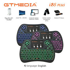 Mini Cordless Keyboard Backlight Air Keypads For Android TV Box,PC,PS4 Game,USA