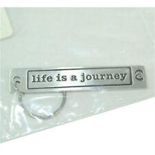METAL MORPHOSIS BRAILLE KEY RING- LIFE IS A JOURNEY