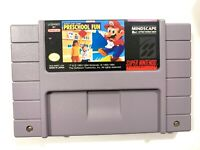 Mario's Early Years Preschool Fun SUPER NINTENDO SNES GAME Tested + Working!