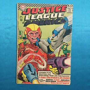 JUSTICE LEAGUE OF AMERICA # 50, Dec. 1966, ROBIN APPEARANCE! GOOD - VERY GOOD