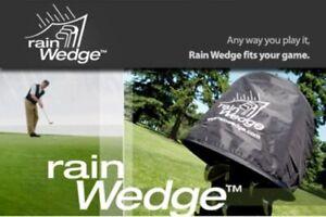 Rain Wedge Waterproof Golf Bag Rain Cover Hood for Easy Access