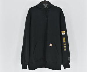 Men's Carhartt Rain Defender Heavyweight Pullover Hoodie, Black, XL