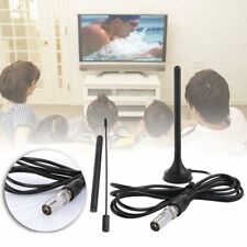 High Quality Indoor 30dBi Digital DVB-T Booster Antenna For HDTV TV Black 2017
