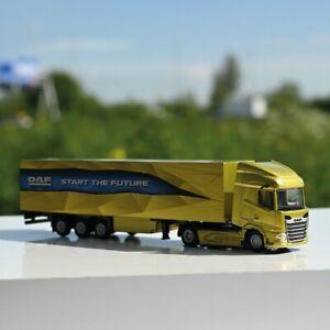 1/87 HO scale Trucks New Generation DAF XF truck/trailer. WSI models Suits Herpa