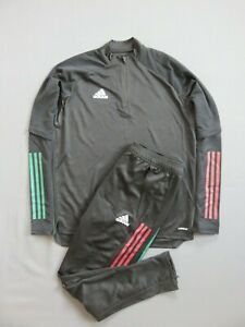 Mens tracksuit training Mexico National Team 2020 Soccer Football Adidas Size M