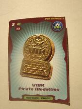 Disney VMK ( Virtual Magic Kingdom  ) Pirate Medallion Pin