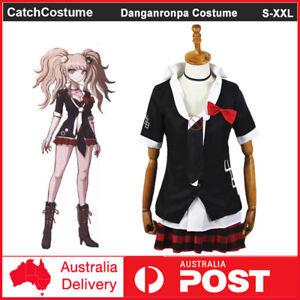 Anime Danganronpa Junko Enoshima Cosplay Costume School Uniform Halloween Outfit
