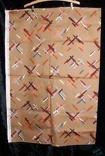 Vintage 70s 80s Universal Cotton Upholstery Twill Fabric Teflon Home Decor