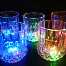 Distinctive Flashing Led Wine Glass Light Up Barware Drink Cup For Party G UKPL