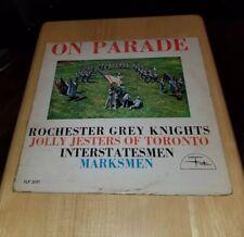 Vinyl Rochester Grey Knights Jolly Jesters Of Toronto Interstatesmen Marksmen LP