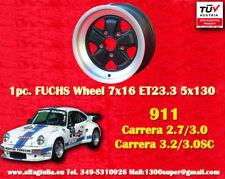 1 cerchio Porsche Fuchs 911 1 Stk. Felge 7x16 TÜV 1 pc. wheel jante llanta