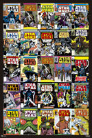 Star Wars - Comic Covers - Film - Poster Plakat Druck - Größe 61x91,5 cm
