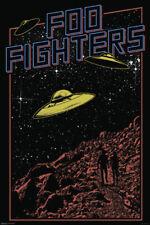 Foo Fighters Rock Roll Post Grunge Hard Rock Alternative Band Poster - 24x36