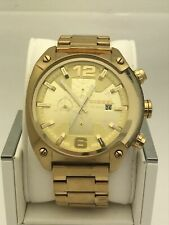 84ed8b399255 Diesel Men s Gold Tone Dial Yellow Gold Tone Stainless Steel Watch DZ4299