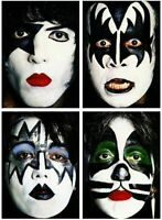 ROCK Bands STICKER AC/DC Metallica Iron Maiden Motorhead Kiss Led Zeppelin