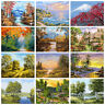 Natural Scenery DIY Paint By Number Kit Digital Oil Painting Art Wall Home Decor