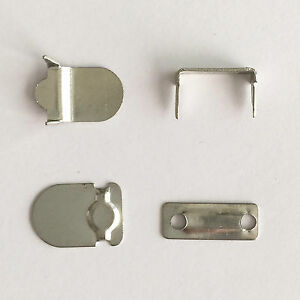 Premium Hook and Bar Fasteners 4 Part Sets Trouser Skirt & Tunic Fasteners