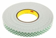 3M 4016 Natural PUR Foam Double Sided Tape, 1.6mm Thick , 19mm x 13.7m