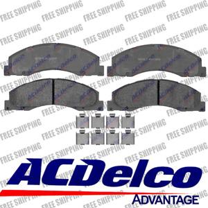2008 - 2014 Ford Van E-150 E-250 Front Set Semi Metallic Brake Pads 14D1328MH