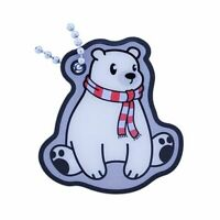 Polar Bear Neu Groundspeak TB Trackable Tag Geocaching Travelbug Geocoin