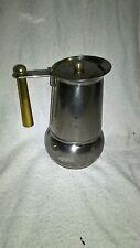 Alte design Espressokocher  GB Italien gebraucht  - OLD COFFEE MAKER