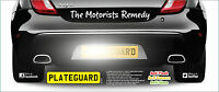 Number Plate Protection Flash Guard  PlateGuard One Pair New top Cash Saver