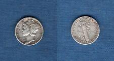 Etats Unis USA United States - Mercury Dime 1936 Silver Argent