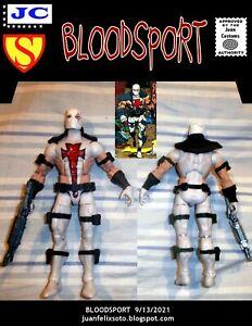 BLOODSPORT, DC Universe/ Marvel custom figure Superman
