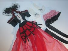 BJD 1/4 Fairyland Minifee Mio Steam Age Queen of Hearts Outfit