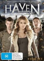 Haven : Season 4 (DVD, 4-Disc Set) NEW