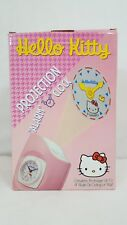 Vintage 1998 Sanrio HELLO KITTY Projection ALARM CLOCK 4ft Image Rare #PJ06 NEW