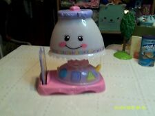 ~FISHER PRICE LEARNING LIGHT UP MUSICAL LAMP ...12.99