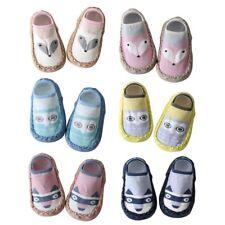 Kid Girl Boy Cartoon Soft Warm Anti-slip Shoes Newborn Boots Slipper Socks 0-18M