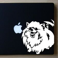 Pomeranian Large White Decal by Artist Ivy Bee-Free Shipping ASAP - High Quality