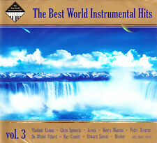2 CD BEST WORLD INSTRUMENTAL HITS VOL 3 GOYA LAST MAURIAT COSMA 2CD DIGIPAK