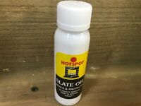 100ml HOTSPOT SLATE OIL SEALS PROTECTS FIREPLACE repels water and dirt hearth