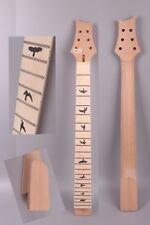 electric guitar neck replacement maple 22 fret 25.5'' Bird inlay Guitar maker