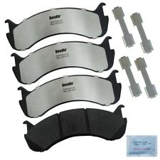 Disc Brake Pad Set-Fleet Metlok Semi-Metallic SDR Disc Brake Pad Rear,Front