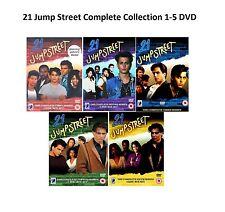 21 Twenty One JUMP STREET Complete Series Collection 1-5 DVD Season 1 2 34 5 New