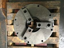 "15"" 3 JAW CHUCK WITH 17"" BACK PLATE FOR AN A2-8 MOUNT"