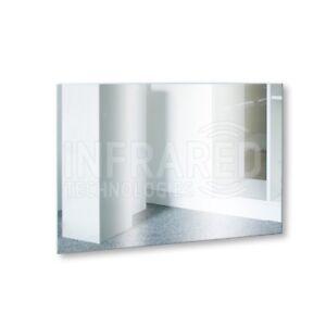 Far Infrared Heating Mirror Panel Frameless Radiator Panel 600W 118cm x 58cm