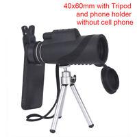 Monocular 40x60 Binoculars Zoom Handheld Telescope Night  Visi&i