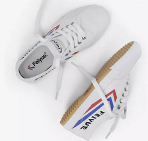 NEW Feiyue 1920 Top One Parkour Kung Fu Sporting Martial Arts Shoes White 41