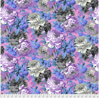 Luscious Grey by  Philip Jacobs for Kaffe Fassett  cotton Quilting Fabric BTY