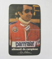 ADESIVO AUTO F1 anni '80 / Old Sticker Vintage JOHN WATSON Parmalat (cm 7x12) a