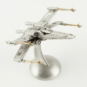 X-Wing Starfighter | Vintage 1990s Star Wars Figure by Rawcliffe Pewter