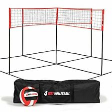 4-Way Volleyball and Badminton Net