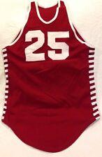 VINTAGE HIGH SCHOOL #25 BASKETBALL JERSEY SIZE 40 60'S-70'S Maroon Speedline